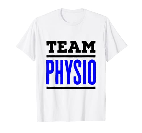 Equipo Fisioterapia Fisioterapia Fisioterapeuta Fisioterapia Camiseta