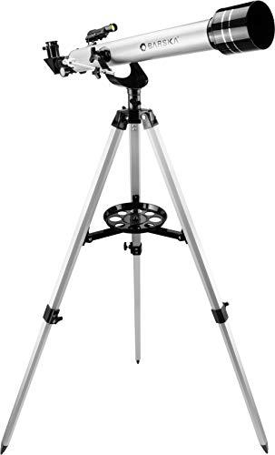 BARSKA Starwatcher 525x700mm Refractor Telescope Silv