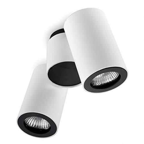 LEDs C4 15-0074-14-05 Spot pipe 2xgu10 max max 50w 2xgu10 11w 2xgu10 ma