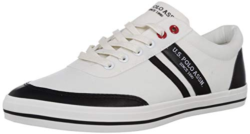 US Polo Association Men Hague Off White Sneakers-6 UK (40 EU) (7 US) (2531918612)