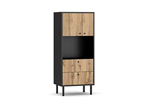 3xeLiving Bewer cassettiera moderna in stile legno