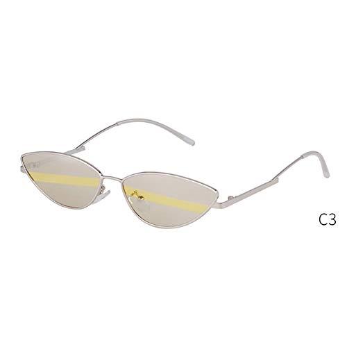 YIERJIU Gafas de Sol Sexy Retro Cat Eye Sunglasses diseñador de la...