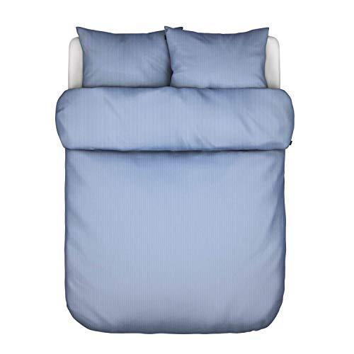 Marc O Polo Bettwäsche Rinu Blue 1 Bettbezug 135x200 cm + 1 Kissenbezug 80x80 cm