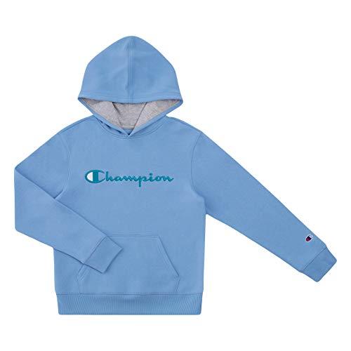 Champion Kinder Sweatshirts Youth Heritage Fleece Pull On Hoody Sweatshirt mit Kapuze - Blau - Medium