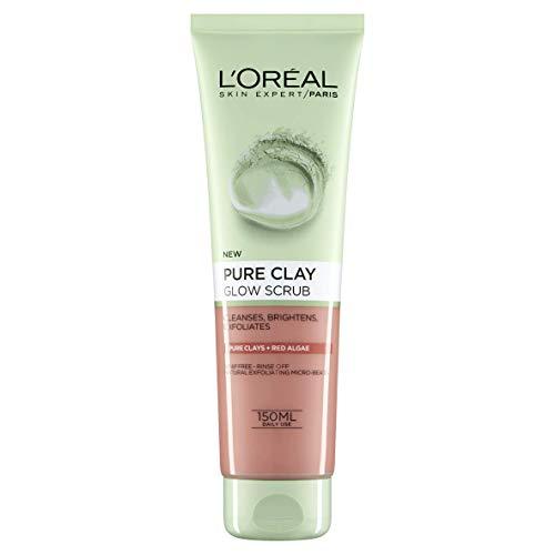 L'Oreal Paris Pure Clay Red Algae Glow Face Scrub 150 ml