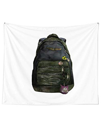 Ellie's Backpack The Last of Us Classic Wall Art Tapestries for Dorms Bedroom Living Room Colorful Décor
