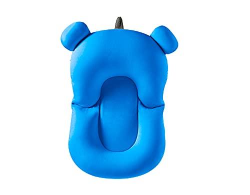 Almofada Flutuante para Banho Bebê de Banheira Bóia Suporte - Azul