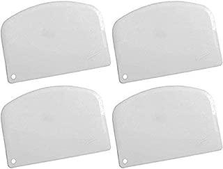 Ateco 14578 Bowl Scraper, Pack of 4, White