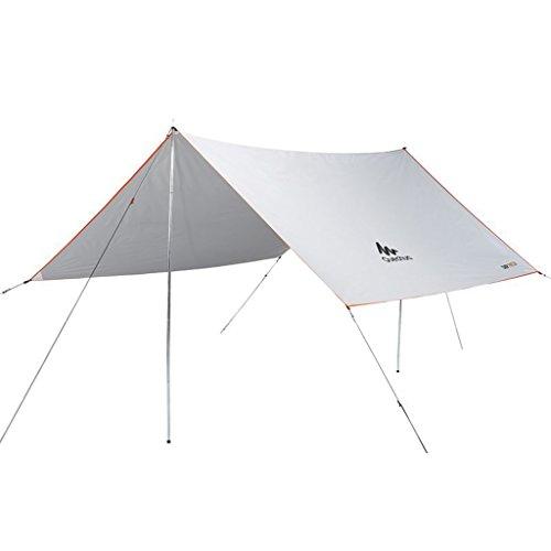 Parasols Auvent UPF50 + Anti-UV Tente de Plage Pluie auvent auvent Tente Plage Camping auvent Tente écran Solaire, Stores et auvents (Color : Blanc, Size : 290 * 285CM)