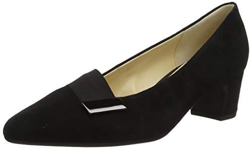 Gabor Shoes Fashion, Scarpe con Tacco Donna, Nero (Schwarz 17), 37.5 EU