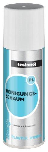 Teslanol 26012 Oberflächen Reinigungsschaum zur intensiven Reinigung und Pflege von Kunststoff - 400 ml