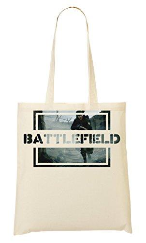 Osom Battlefield   Video Game Series   Popular Action   Modern War   Cool T Shirt   Nice To   Super   First Person Shooter Tragetasche Einkaufstasche
