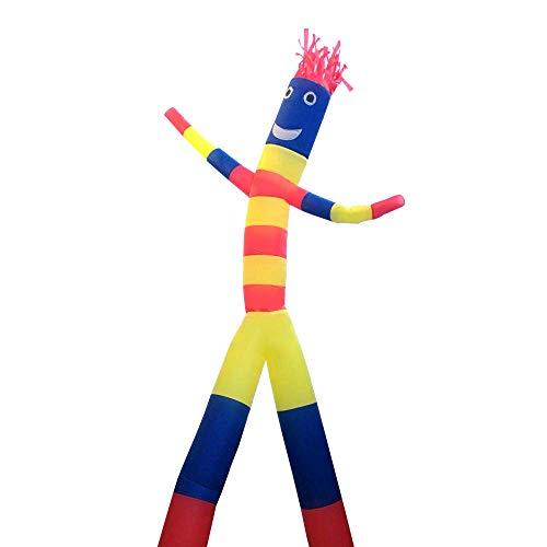 Air Sky Dancer Castillo de marionetas colores surtidos Wacky Flying Magic Man inflable Inscripción Brazo baile del tubo Hombre de Publicidad (n soplador) 1yess (Color : C, Size : 5m/16.5ft)