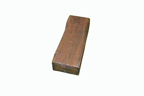 Viga de poliuretano 300x12,5x8cm Nogal