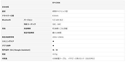 YAMAHA(ヤマハ)『EP-E30Aイヤホン』
