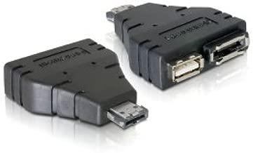 Cablecc Combo eSATAp Power over eSATA USB 2.0 to eSATA & USB splitter Adapter 1 in 2 new