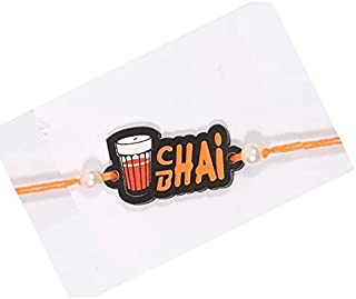 Original Combo Chai Bhai Rakhi with Imported 2in1 Wallet and Pen Set.