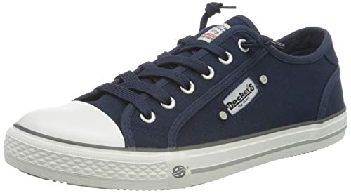 Dockers by Gerli Damen 42ve201-710660 Sneaker, Blau, 40 EU