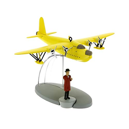 DataPrice Tintín 29525- Hidroavión Amarillo. Las Siete Bolas de Cristal. Escala 1:250