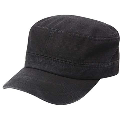 OYSOHE Männer und Frauen Military Mütze Flat Top Baseball Cap Schirmmütze für Tennis Golf Laufen Wandern Reisen