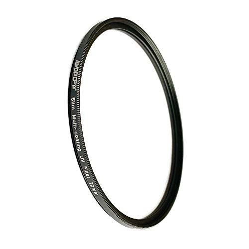 72mm MC UV Filter - Ultra Slim 16 Layers Multi Coated Ultraviolet Protection Lens Filter Compatible with All 72mm DSLR Camera Lenses