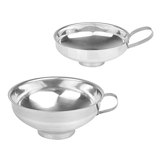 Amytalk 2Pack Canning Funnel for Wide and Regular Mouth...