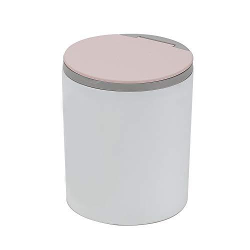 Bocotoer Tisch-Mülleimer mit Klappdeckel für Zuhause, Küche oder Büro