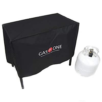 Gas ONE Two Burner Patio Cover Weather & Dust Resistance Cover for Majority of Double Burners