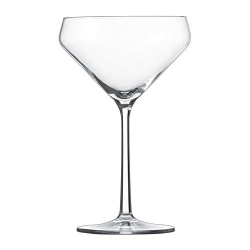 Schott Zwiesel 113755 Serie Pure 6-teiliges Martiniglas Set, Kristallglas