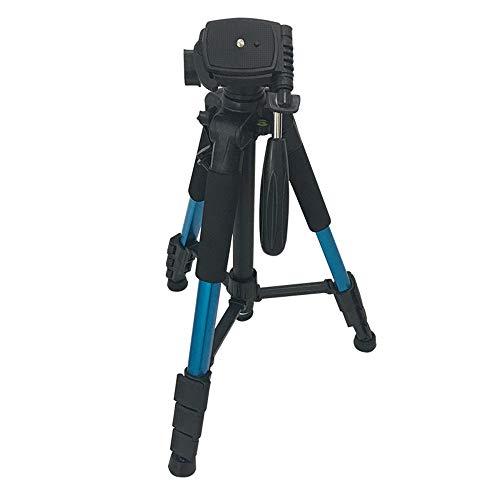 Wuxingqing statief voor camera, draagbaar, 144 cm, reisstatief buiten, videocamera compact van aluminium, statief monopod voor camera op reis en werk
