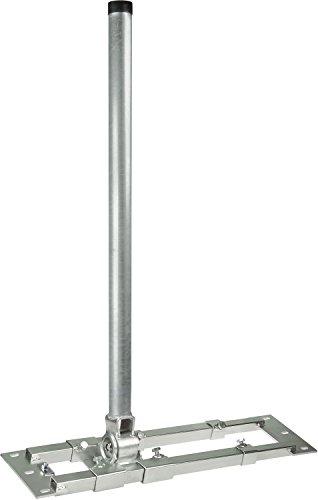 Dachsparrenhalter - DUR-line® Herkules S48-1300 - über 1000Nm - Breite:55- 90cm, Masthöhe:130cm, Ø:48mm, feuerverzinkt, Kabeldurchführung