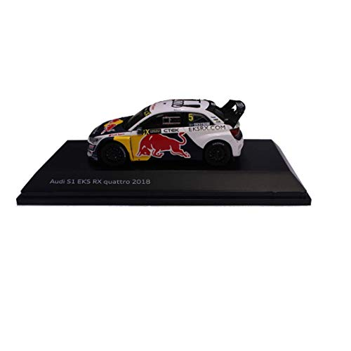 Audi collection 5021800331 S1 EKS RX Quattro 2018 1:43 Matthias Ekström