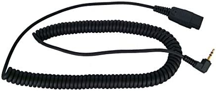 wholesale 2M Coiled Cord with 2.5MM Plug GN discount Qd to 2.5MM Plug - 2021 SC Classic and Ultra Series QD, VXI G Series, Starkey G Series outlet sale