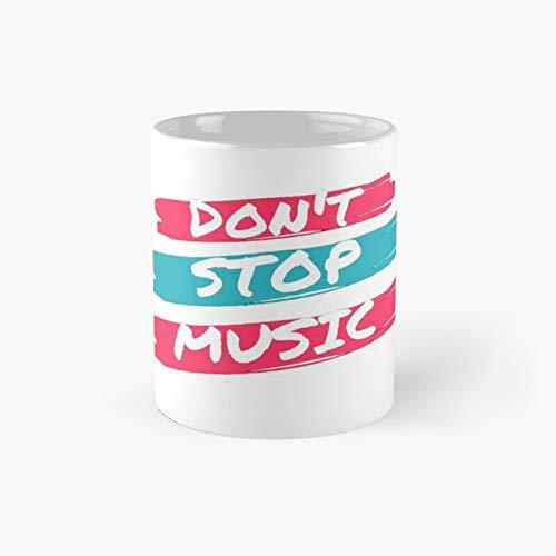 Don't Stop Music Classic Mug 11 Oz.