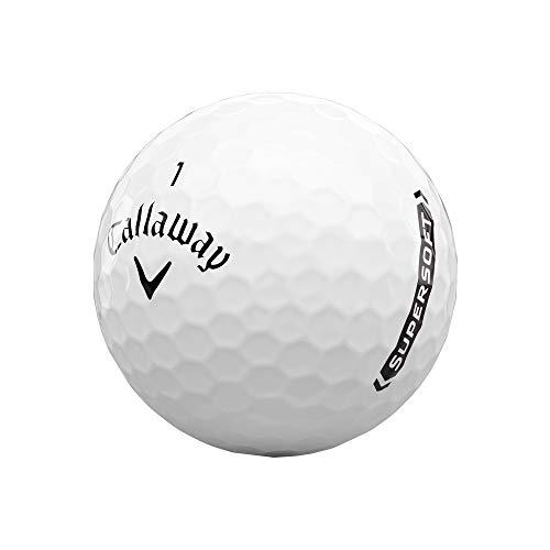 2021 Callaway Supersoft Golf Balls , White