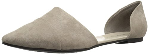 Chinese Laundry Women's Easy Does It D'Orsay Flat, Taupe Suede, 6 M US