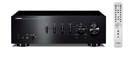 Yamaha A-S701BL Natural Sound Integrated Stereo Amplifier (Black)