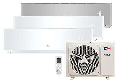 COOPER AND HUNTER Climatizador, bomba de aire acondicionado de Sistema Split 3x1, 7000 frigorias