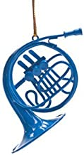 "Cool TV Props Blue French Horn Ornament Decorative Mini Blue French Horn from How I Met Your Mother – 3"" (7.6cm) Mouthpiece to Bell"