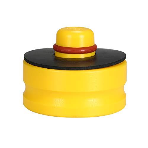 KKmoon Wagenheber Gummi Kissen Universal Gummiauflage für Hebepunkte Jack Pad Werkzeug Chassis für Tesla Model 3 Gelb