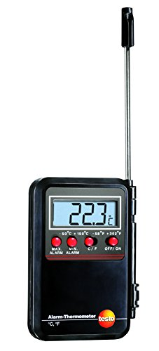 Testo 09000530Thermometer mit Alarm, Mini/Maxi