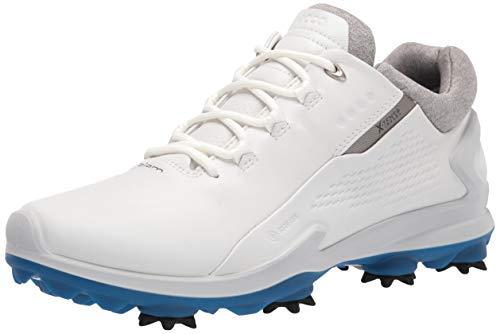 ECCO Biom G-3, Zapatos de Golf Hombre, Blanco, 44 EU
