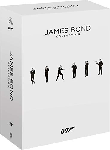 007 - James Bond Complete Collection (24 Film in DVD)