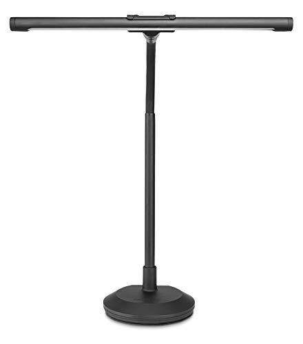 Gravity tafel- en pianolelamp, zwart