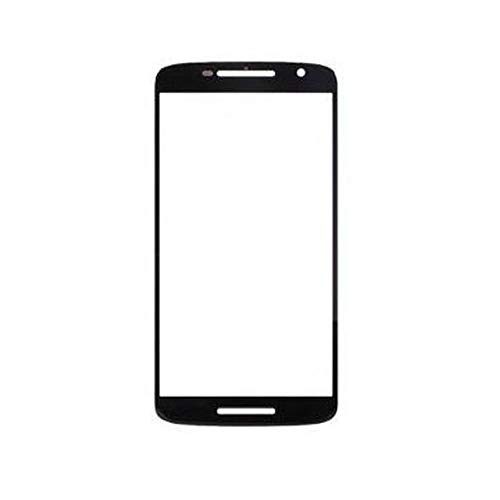 Shockware Front Screen Outer Touch Glass Compatible with Motorola Moto X Play : Black