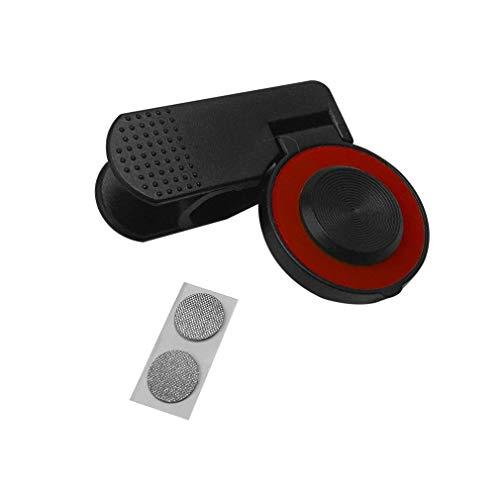 Mini-touchscreen Joystick met clip Mobiele telefoon Joystick Opgewaardeerde Joypad Universele Arcade Game Joystick voor telefoon Tabletred