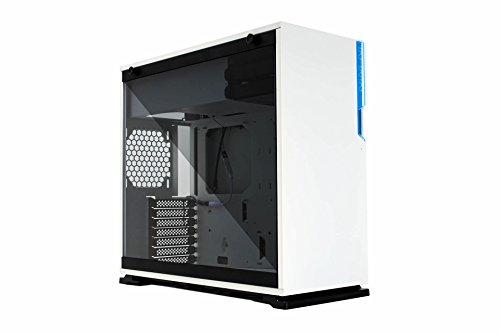 In Win 101C Midi-Tower White computer case - computer cases (Midi-Tower, PC, Acrylonitrile butadiene styrene (ABS), SECC, Tempered glass, ATX,Micro-ATX,Mini-ITX, White, Front)