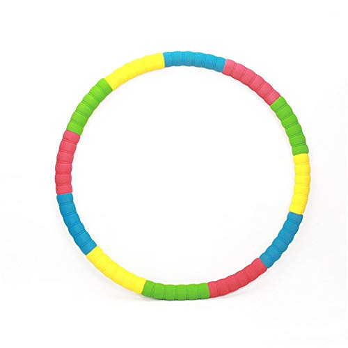 Read About Fitness Hula Hoops Fitness Exercise Hula Hoop Weighted Hula Hoop Perfect For Dancing Hot ...