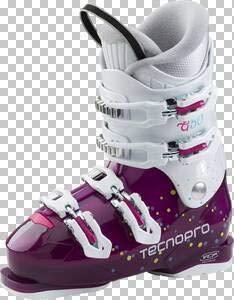 Tecno Pro Skischuhe G50 Junior Skistiefel Kinder (Größe: Mondopoint 22 - EU ca. 34)