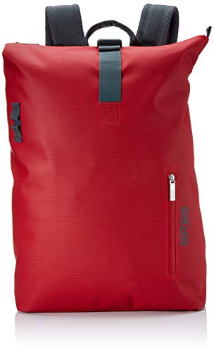 BREE Collection Unisex-Erwachsene Pnch 713, Backpack M Rucksack, Rot (Red), 15x42x34 cm